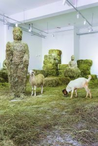 Zhongying SHI, Yu·She, Grass Goat Sheep