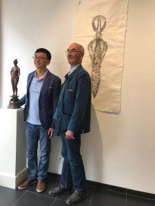 Philippe Brodzki et Zongying Shi chez ODRADEK