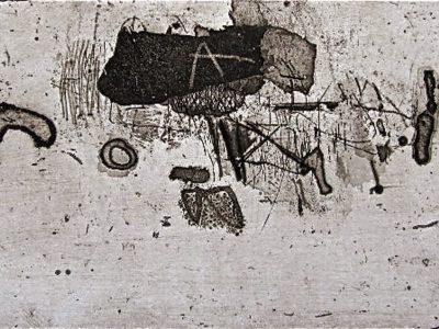 Gravure de Gabriel Belgeonne, Contrepoint subtil