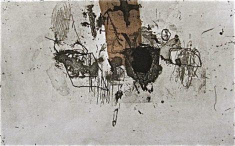 Gravure de Belgeonne - Sente parcourue, 16x26, aquatinte