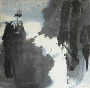 Li-Chiang Chou, Sans titre, 48x48, 2017