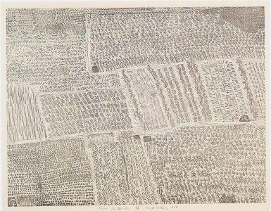 XU BING, Landscape, landscript, 1984