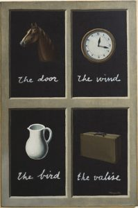Fig 12 : MAGRITTE René, 1930, The Key to dream