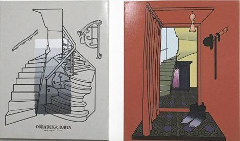 Fig.14: ODRADEK and HORTA, 2018, acrylic on canvas, 80 x 60 cm